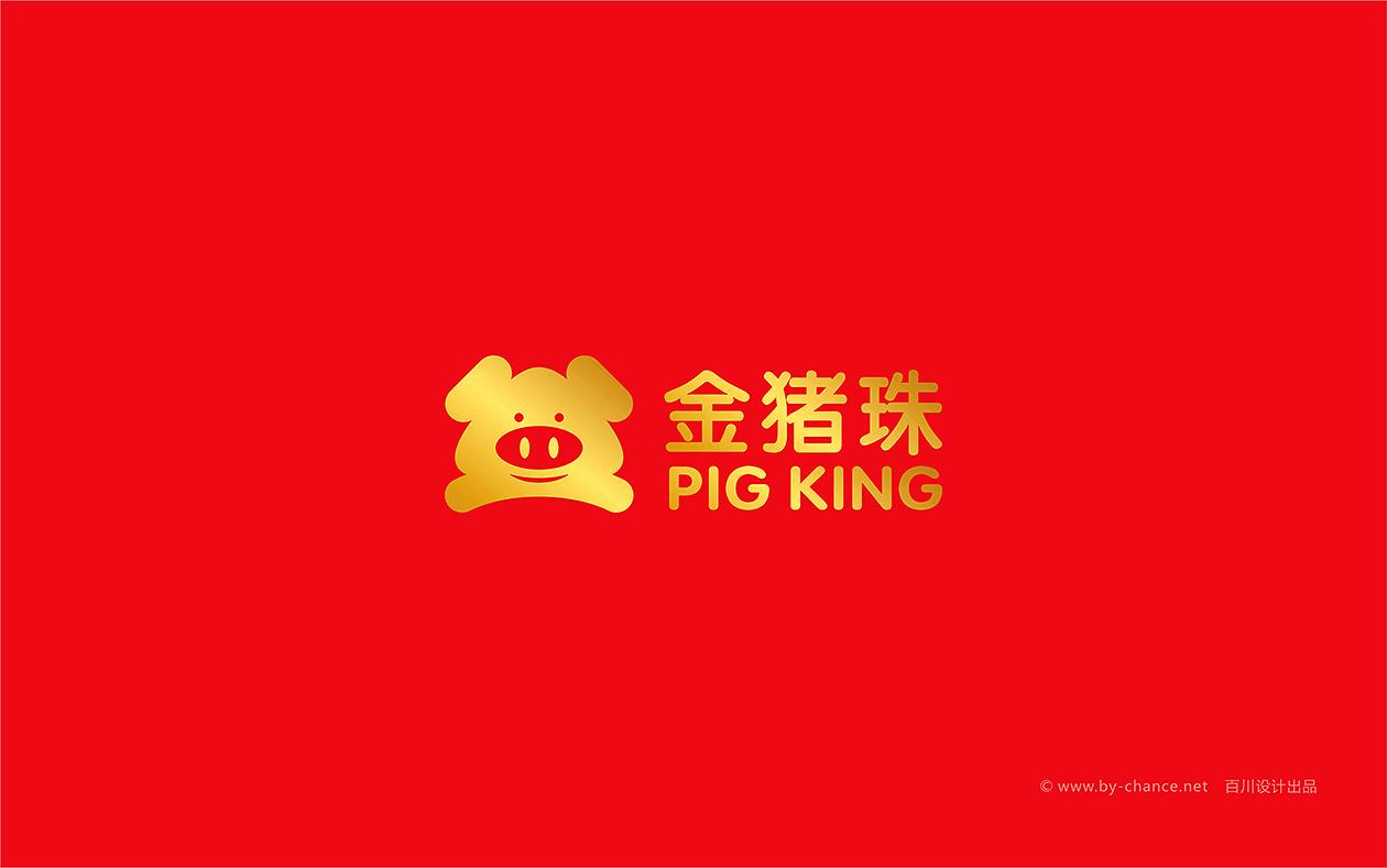 金豬珠科技LOGO設計